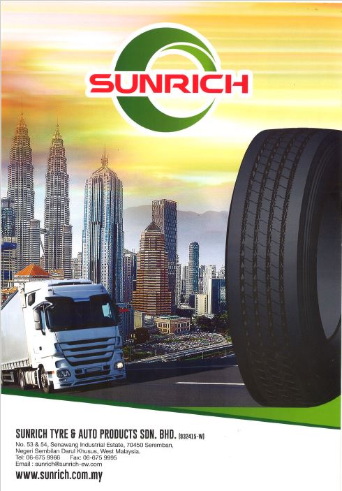 Sunrich Tyre & Auto Products Flyers