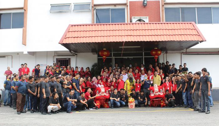 SRIT Group CNY Opening Ceremony 2020