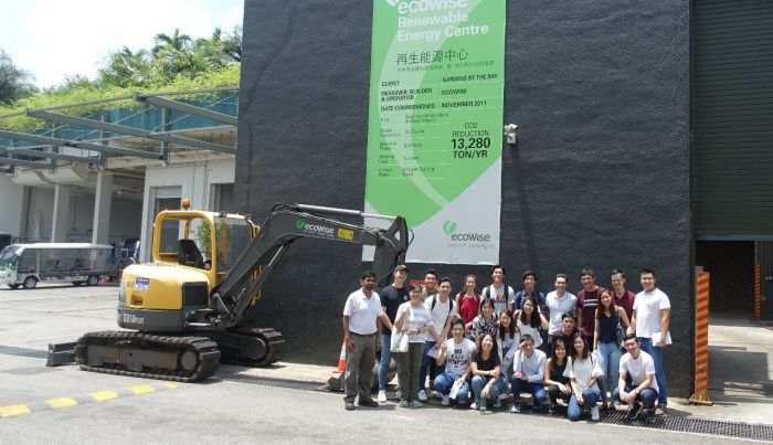 SMU Students Visited ecoWise Biomass Power Plant
