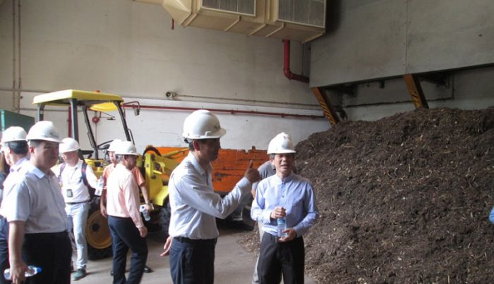 Visiting Officers from Sino-Singapore Tianjin Eco-City (SSTEC) at ecoWise' Biomass Power Plant
