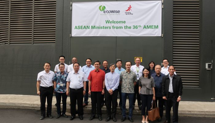 Ecowise Welcomed Group of ASEAN Ministers Led by Mr Chan Chun Sing