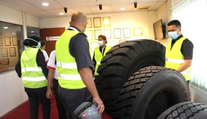 Official visit from the Ministry of Domestic Trade and Consumer Affairs to Sun Tyre Industries Sdn. Bhd. (STI) – Year 2020