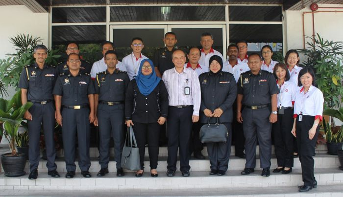 Official Visit from the Ministry of Domestic Trade and Consumers Affairs to Sun Tyre Industries Sdn Bhd (STI)