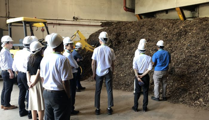 Taisei Group from Japan Visited ecoWise Biomass Power Plant
