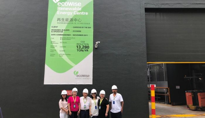 NUS Business School Taiwan Alumni Chapter Visited ecoWise